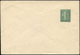 Let Collection Spécialisée 15c. Semeuse Lignée - Env. TSC N°B23a, Papier Blanc Format 144 X 98 Mm, Sans Raison Sociale,  - 1903-60 Semeuse Lignée