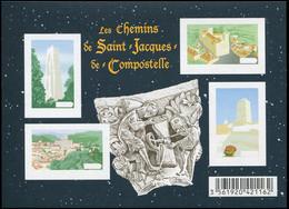 ** VARIETES - F4641  St Jacques De Compostelle, BF NON DENTELE SANS La Taille Douce, TB - Variedades Y Curiosidades