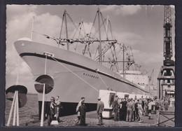 Ansichtskarte Schiff Schifffahrt Seefahrt Marine N.S. Savannah Erstes Atom  - Ohne Zuordnung