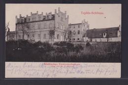 Ansichtskarte Teplitz Schönau Teplice Sudetenland Böhmen Tschechien Städtisches - Sudeten