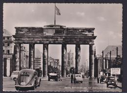 Ansichtskarte Berlin Brandenburger Tor Sektoren Grenze Verlag Kunst U. Bild  - Deutschland