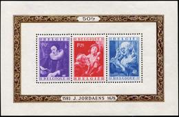 * BELGIQUE BF 27 : J. Jordaens, TB - Blocs 1924-1960