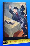 -☛ LISIEUX --J.DOESNARD-☛Art- Peinture Aquarelle Support Carton Photographique Thème Philatélie-découverte Timbre Rare - Acquarelli
