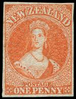 (*) NOUVELLE-ZELANDE 8 : 1p. Vermillon, Neuf Sans Gomme, TB. Br - New Zealand