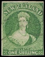 NOUVELLE-ZELANDE 25 : 1s. Vert, Obl., TB - New Zealand