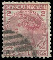 NOUVELLE-ZELANDE 58 : 2s. Carmin, Obl., TB - New Zealand