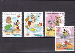 Antigua Nº 1421 Al 1424 - Antigua And Barbuda (1981-...)