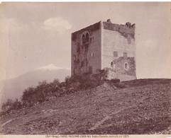 Paternò - Catania - Sicilia -  Antico Castello, Costruito Nel 1073 - Foto Grande Ed. Brogi - Ancianas (antes De 1900)