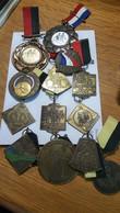 Medaille -:Netherlands  -  .13 X Medaille Fietsvierdaagse Mééste Nijmegen. - Paises Bajos