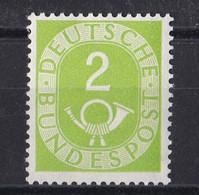 Men_ Bund 1951 - Mi.Nr. 123 - Postfrisch MNH - BRD