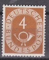 Men_ Bund 1951 - Mi.Nr. 124 - Postfrisch MNH - BRD