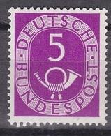 Men_ Bund 1951 - Mi.Nr. 125 - Postfrisch MNH - BRD