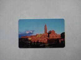 Italy Hotel Key, Hotel San Domenico Al Piano, Matera (1pcs) - Chiavi Elettroniche Di Alberghi