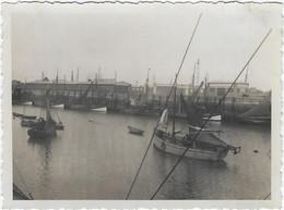 Belgique Oostende Ostende Photo Aout 1935 Barques De Peche - Oostende