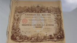 CHARGEURS REUNIS Compagnie De Navigation A Vapeur (1939) - Ohne Zuordnung