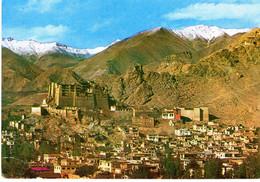 Inde Leh Royal Palace Ladakh Montagne Paysage Batiment Edifice Patrimoine Histoire - Inde