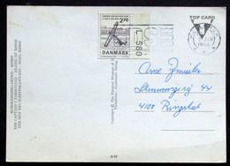 Denmark 1986 Cards Hellerup 2-1-1986 ( Lot 399 ) - Briefe U. Dokumente