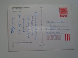 D173828  Hungary   Postal Stationery   Entier -Ganzsache - 2 Ft  Nr 851104/3 - Interi Postali