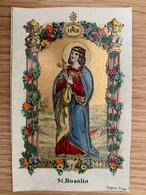Holy Card 165 Santini Heilgenbild Holycard Images Pieuse Religieuse Image Epinal 1850 St Rosalia Koppe Prague Praha - Santini