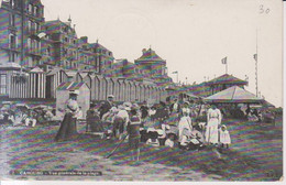 Cabourg Vue Generale De La Plage  1915 Carte Postale Animee - Cabourg