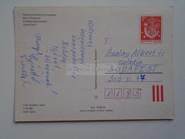 D173837  Hungary   Postal Stationery   Entier -Ganzsache - 2 Ft  Nr  1170/882 - Interi Postali