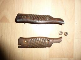 Plaquettes Baionnette  Mauser S98/05 2e Type - Armas Blancas