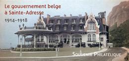 """SOUVENIR PHILATELIQUE** De 2015 """"LE GOUVERNEMENT BELGE A SAINTE-ADRESSE (1914-1948)"""" Avec Son Encart (sous Blister) - Souvenir Blocks & Sheetlets"""