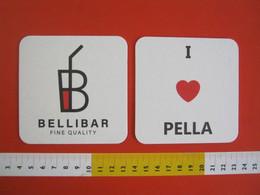 BIER BEER 1 SB SOUS BOCKS SOTTO-BOCCALE BIRRA CERVEZA - BELLIBAR BAR I LOVE PELLA LAGO ORTA VERBANIA - Portavasos