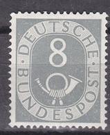 Men_ Bund 1951 - Mi.Nr. 127 - Postfrisch MNH - BRD