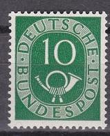 Men_ Bund 1951 - Mi.Nr. 128 - Postfrisch MNH - BRD