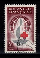 Polynesie - YV 24 Oblitere, Croix Rouge , Cote 12,50 Euros - Polinesia Francese