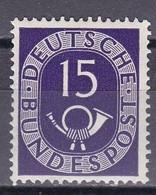 Men_ Bund 1951 - Mi.Nr. 129 - Postfrisch MNH - BRD