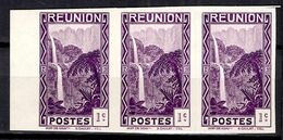 Réunion Maury N° 127 En Bande De Trois Timbres Non Dentelés Neufs ** MNH. TB. A Saisir! - Reunion Island (1852-1975)