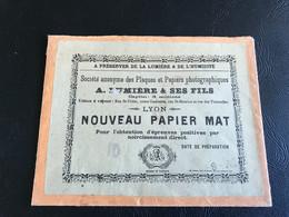 Pochette Papier Photo A. LUMIERE & Ses Fils (vide) - Zubehör & Material