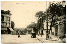 CACHAN - Place Gambetta - Voir Scan - Cachan