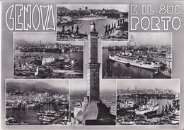 Genova E Il Suo Porto - 1958 - Vedutine - Genova (Genoa)