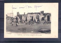 Maroc. Casablanca. Les Tirailleurs Occupent La Ville (9 Août) - Casablanca