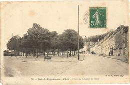 """41 -   SAINT AIGNAN -Place Du Champ De Foire  """" Att Bien Regarder A G Bas""""  124 - Saint Aignan"""
