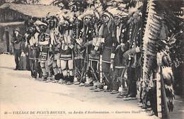 Indiens - N°69132 - Village De Peaux-Rouges Au Jardin D'Acclimatation - Guerriers Sioux - Indiani Dell'America Del Nord