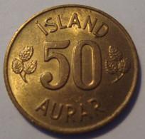 ISLANDE 50 AURAR 1974 - Iceland