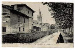 MONTLUEL  01  Remparts Et église - Montluel