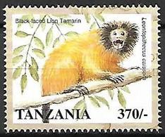 Tanzania - MNH ** 1998 :  Black Faced Lion Tamarin - Leontopithecus Bourkei - Apen