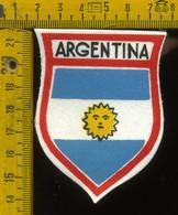 Scudetto Stemma In Stoffa Souvenir D' Epoca Argentina - Patches