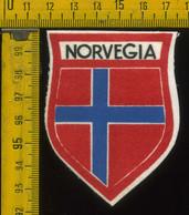 Scudetto Stemma In Stoffa Souvenir D' Epoca Norvegia - Patches