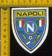 Scudetto Stemma In Stoffa Souvenir D' Epoca Calcio Napoli - Patches