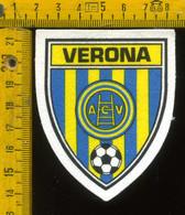 Scudetto Stemma In Stoffa Souvenir D' Epoca Calcio Verona - Patches
