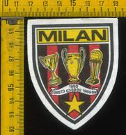Scudetto Stemma In Stoffa Souvenir D' Epoca Calcio Milan - Patches