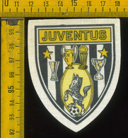 Scudetto Stemma In Stoffa Souvenir D' Epoca Calcio Juventus - Patches