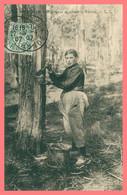 ARCACHON - Résinière Récoltant La Résine - Phototypie CH. CHAMBON - Cliché C.C. - 1907 - Arcachon