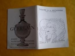 Theatre De La Michaudière,Yvonne Printemps: Laurette: Danielle Darrieux,Michel Roux,Daniel Ceccaldi ...nombreuses Pub - Programas